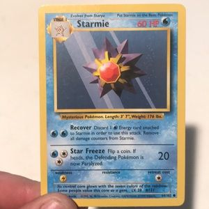 Starmine Pokemon card (base set)